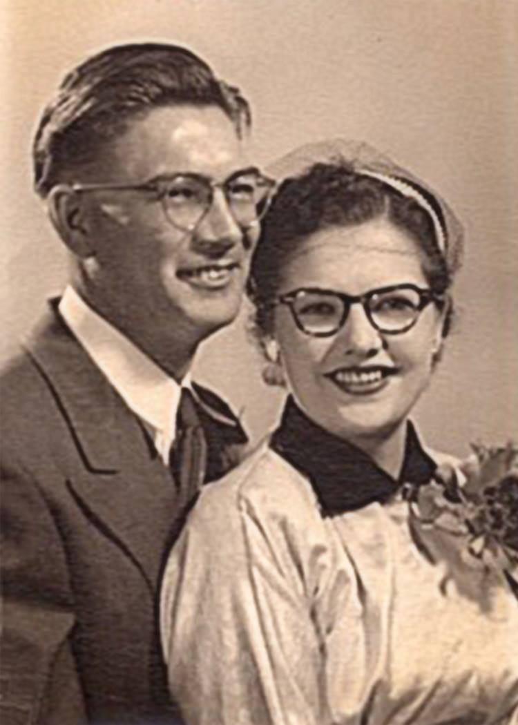 1953- My parents, Mervin and Elsie Larson (Ben and Marie's son)